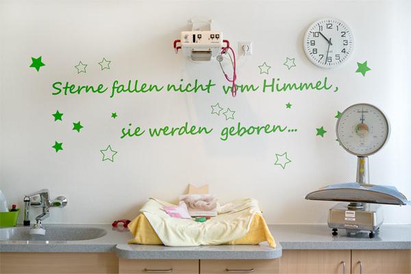 Räume der Hebammengemeinschaft am Klinikum in Halle Westf.