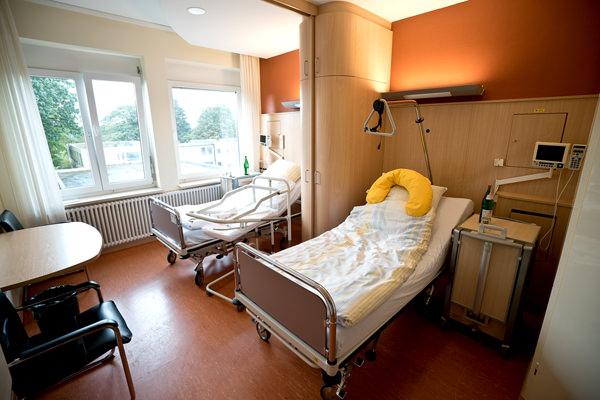 Räume der Hebammengemeinschaft am Klinikum in Halle Westfalen.